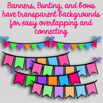 Banners, Bunting and Bows-Candy Pack