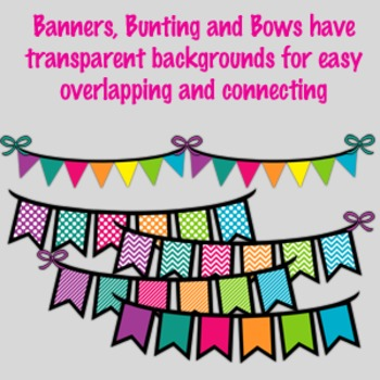 Banners, Bunting and Bows-Crazy Fun Pack