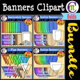 Banners Clipart BUNDLE