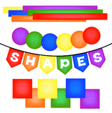 Banners, Frames, Shapes, Clip Art