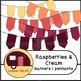 Banners, Pennants, Raspberries and Cream {CU - ok!} Pinks