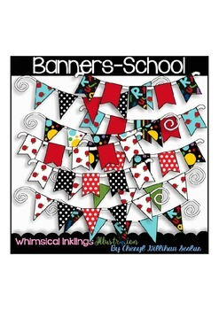 Banners-School Clipart Collection