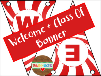 """Banners - """"Welcome"""" / """"Class of"""" - Circus"""