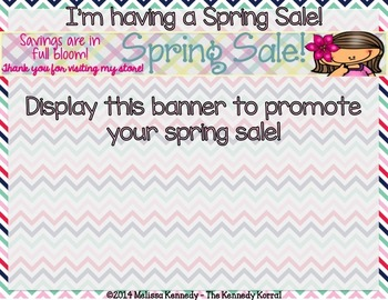 Store Banners: April