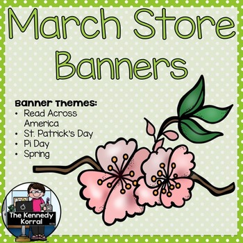 Store Banners: March
