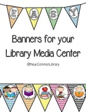 Banners for your Library Media Center - Chevron