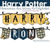 Bannière Harry Potter - 26 lettres - Harry Potter Banner -