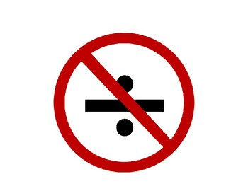 Banning (do not use) Elementary Math Symbols in Algebra Posters