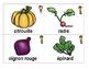 Banque de mots/Word Wall - Légumes/Vegetables