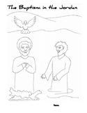 Baptism of Jesus Craftivity