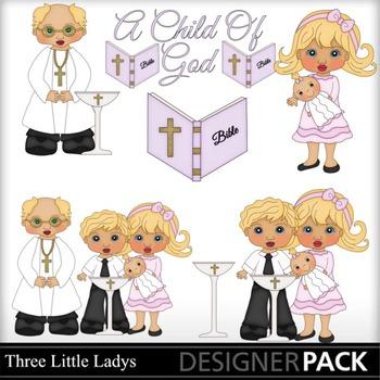 Baptism Girl Blonde