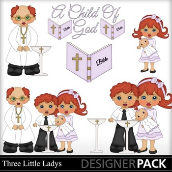 Baptism Girl Redhead