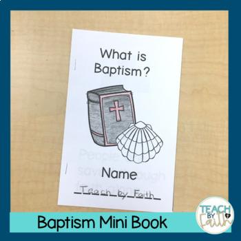 Baptism Mini Book
