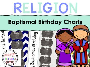 Baptismal Birthday Charts