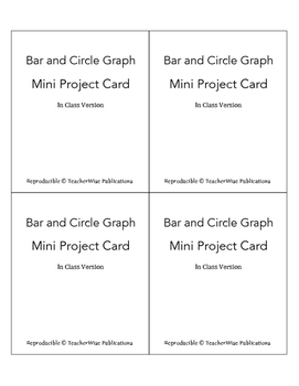 Bar & Circle Graph Mini Project: Survey, Graph, & Analyze Data