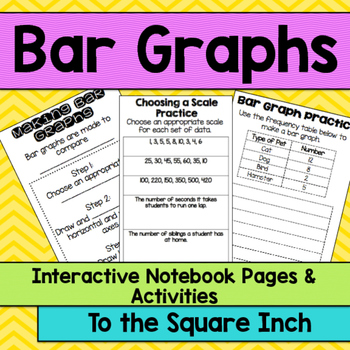 Bar Graph Interactive Notebook