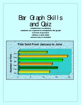 Bar Graph Activities and Quiz