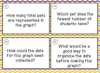 Bar Graph Cards