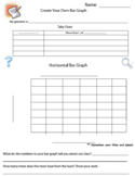 Bar Graph - Create Your Own - Graphing