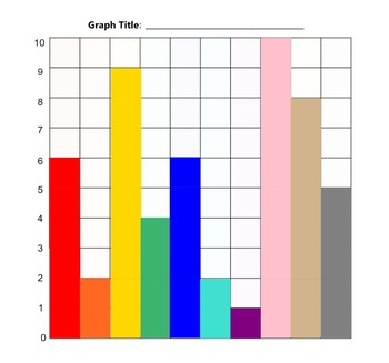 Bar Graph Creation SMART file for Primary Grades