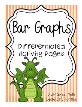 Bar Graph Differentiated Activity Pages