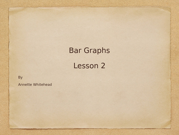 Bar Graph Lesson 2