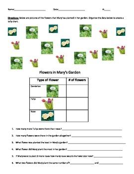 Bar Graph-Mary's Garden