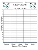 Bar Graph - Our Eye Colors