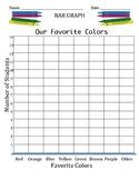Bar Graph - Our Favorite Colors