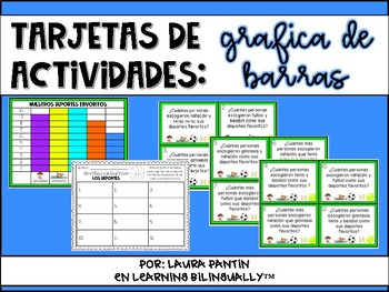 Bar Graph Pack in Spanish
