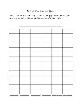 Bar Graph Packet