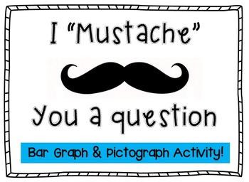 Bar Graph & Pictograph MUSTACHE activity!