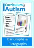 Bar Graph Pictograph Autism Independent Work Task Math Center