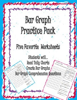 Bar Graph Practice Pack Grades 2-4