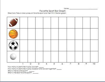 Bar Graph Printable