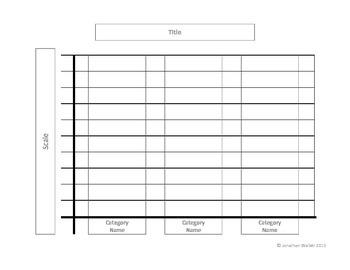 Bar Graph Puzzles & Problems Center - Grade 1