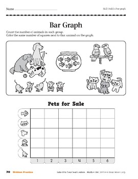 Bar Graph (Take It to Your Seat Centers Common Core Math)