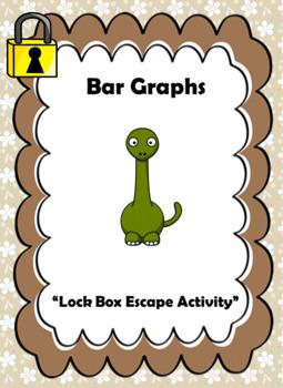 Bar Graph Word Problems-Lock Box Escape Room