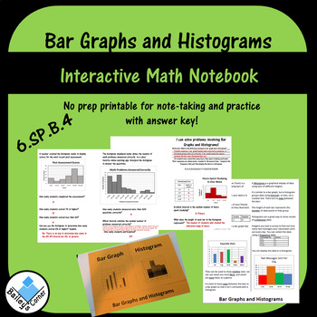 Bar Graph and Histogram Foldable