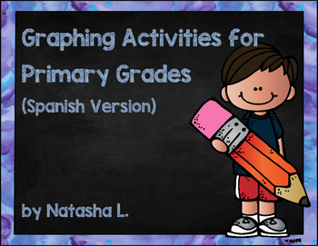Bar Graphing Activities for Lower Elementary (Spanish)