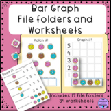 Graphing Bar Graph File Folders for Autism and Special Education