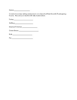 Bar Graphing Packet