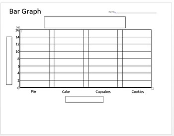 Bar Graph Template Worksheets & Teaching Resources | TpT