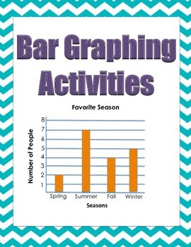 Bar Graphing Unit/Activities and Poster