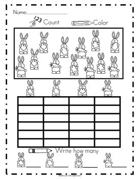 Easter Activities Easter Math Bar Graphs and Picture Graphs