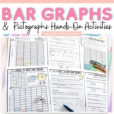 BAR GRAPHS: INTERACTIVE SHEETS: PICTOGRAPHS