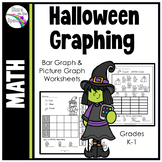 Halloween Graphing (Bar Graph Worksheets)