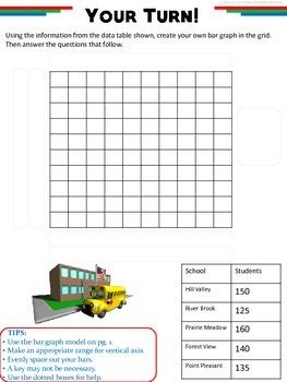 Bar Graphs: How-To Printable