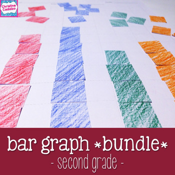 Bar Graphs - Lessons and Activities Bundle - Second Grade