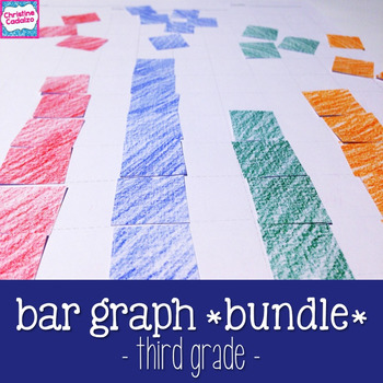Bar Graphs - Lessons and Activities Bundle - Third Grade